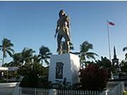 フィリピン セブ島の魅力首長ラプラプの像