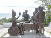 フィリピン セブ島の魅力血盟記念碑