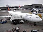フィリピン セブ島の魅力セブ直行のフィリピン航空の飛行機