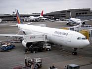 フィリピン・セブ島へ行く飛行機