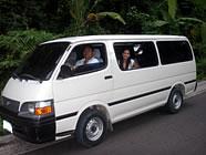 フィリピン・セブ島の送迎車