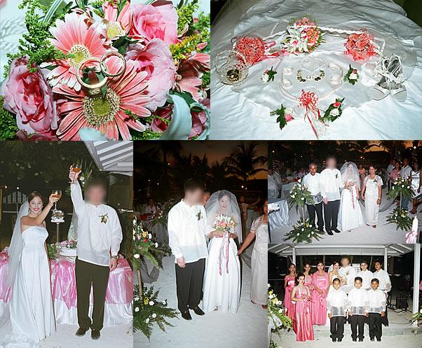 フィリピン・セブ島でのご結婚おめでとうございます1