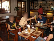 フィリピン・セブ島での夕食
