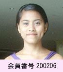 国際結婚相談所セブ・アイランド・クラブ女性会員200206